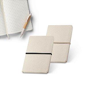 Caderno capa dura Linho 230 g/m² Cantos redondos 96 folhas pautadas