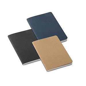 Caderno Cartão reciclado Com 30 folhas não pautadas de papel reciclado