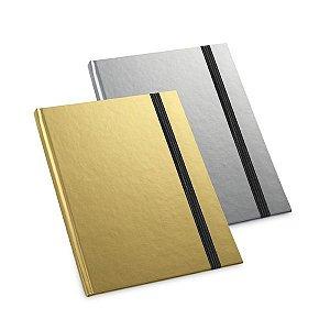 Caderno capa dura Capa dura Com 80 folhas pautadas