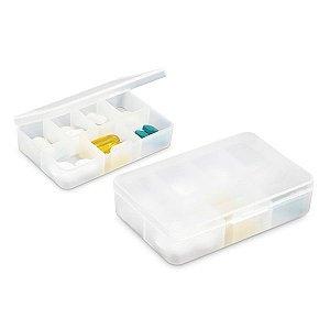 Porta comprimidos Com 7 divisórias Food grade