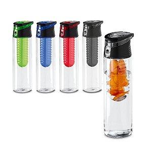 Squeeze AS e PP Com infusor de frutas Capacidade: 740 ml Food grade Caixa branca 94657 vendida opcionalmente
