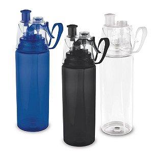 Squeeze PS e ABS c/ Borrifador de água - Capacidade até 600 ml