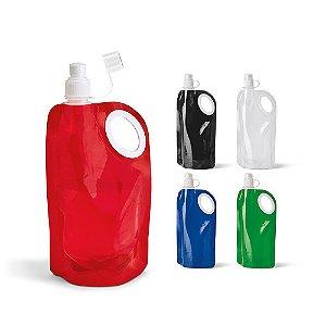 Squeeze dobrável PE - Capacidade até 770 ml
