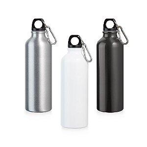 Squeeze Alumínio c/ Mosquetão - Capacidade: 750 ml