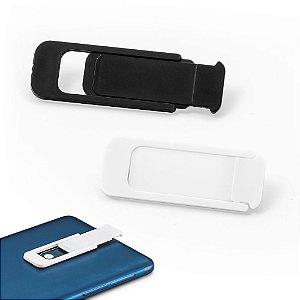 Protetor para Webcam PP Com tampa deslizante e autocolante no verso Formato universal para smartphone, tablet, notebook e computador de secretária