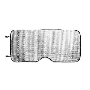Protetor Solar para Carros PE bubble Forrado com folha de alumínio na frente e verso Para vidro frontal Incluso 2 fixadores de ventosa