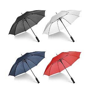 Guarda-chuva Poliéster 190T Varetas e haste em fibra de vidro Pega em EVA Abertura automática