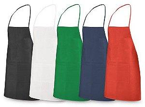 Avental Non-woven: 80 g/m² Com 1 bolso