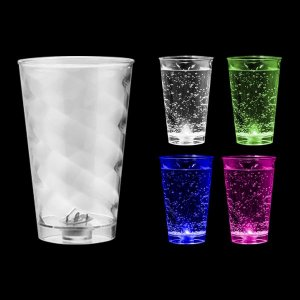 NP - COPO BIG TWISTER LED MULTICOLOR 700ML Prodito em PS Cristal com LED Multicolor
