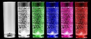 NP - LONG DRINK EPIC LED 320ML em PS Cristal com LED Branco ou Multicolor.