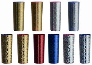 NP - Copo Long Drink Metalizado Holográfico e Glitter 270 ml em PS cristal com metalização