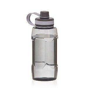 GA5800 - Garrafa plástica com alça de mão, tampa e bico rosqueável. Capacidade 1.500ml.