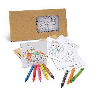 SP 91755 - Kit para pintar em caixa de cartão