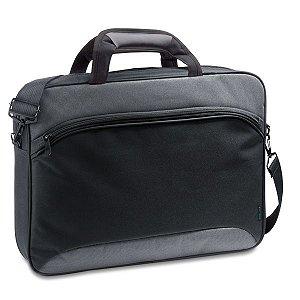 SP 92266 - Pasta p/ Notebook - Compartimento forrado, c/ divisória almofadada para notebook até 15.6''. Bolso frontal com diversos bolsos interiores  - Banda para transporte em trolley - Alça de ombro ajustável,
