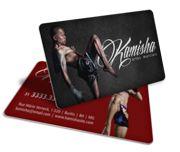 Cartão Visita Off-Set - PVC006 - 250 Unid - Pvc Branco 30g - 30g - 4x4