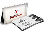 Cartão Visita Off-Set - CR4X11000 - 1000 Unid - Reciclato - 250g - 4x1