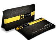 Cartão Visita Off-Set - SP44500 - 500 Unid - Supremo  - 250g - 4x4