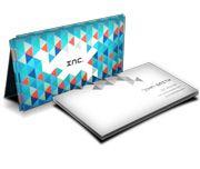 Cartão Visita Off-Set - C2504 - 1000 Unid - Couche Brilho - 250g - Verniz Uv Total F - 4x1