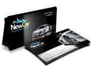 Cartão Visita Off-Set - CLFO4500 - 500 Unid - Couche Brilho - 275g - Lam Holográfica - 4x4