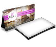 Cartão Visita Off-Set - CLFO500 - 500 Unid - Couche Brilho - 275g - Lam Holográfica - 4x0