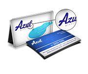 Cartão Visita Off-Set - CVL500 - 500 Unid - Couche 300g - Lam Fosca E Verniz Loc FeV - 4x4
