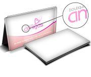 Cartão Visita Off-Set - GVLF6 - 500 Unid - Couche 300g - Lam Fosca Frente E Verniz Loc Fre - 4x0