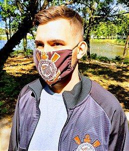 Máscara de Proteção Sublimática - Dupla - c/ personalização