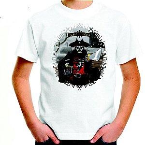 Camiseta Adulto Branca 100% Algodão 30/1 Penteado - 25 Tramas (Transfer - A4 Impressão Laser Malha Clara)
