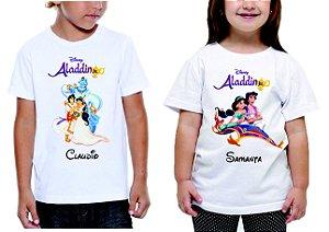 Camiseta Infantil Branca 100% Algodão 30/1 Penteado - 25 Tramas (Transfer - A4 Impressão Laser Malha Clara)