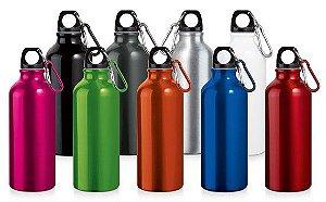 SP 94623 Squeeze Alumínio c/ Mosquetão - Capacidade: 500 ml - 0,66 x 210 mm