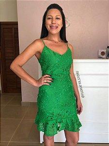 Vestido em Guipir