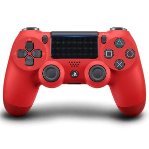 Controle Dualshock - PlayStation 4 - Vermelho