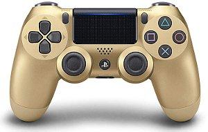 Controle sem fio Dualshock Ps4 - Gold