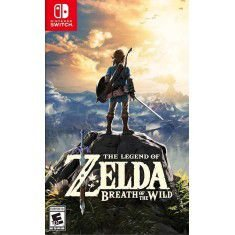 JOGO THE LEGEND OF ZELDA BREATH OF THE WILD SWITCH