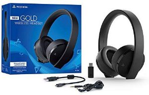 Headset Wireless Gold PlayStation 4 - Sony