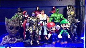 Bonecos personalizados - Antes de comprar escolhe o personagens desejado