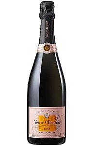 Champagne veuve clicquot rosé