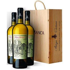 Kit com 03 garrafas - Pera Manca Branco 2017