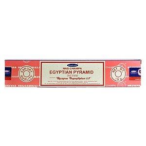 Incenso Satya Nag Champa Egyptian Pyramid