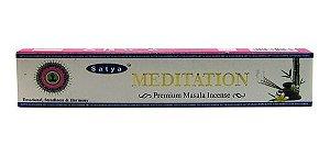 Incenso indiano Satya Meditation