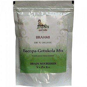Brahmi GotuKola (Bacopa monnieri + Centella asiatica em pó)  250 grs