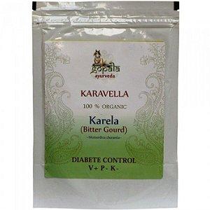 Karela orgânico em pó - 250 g - Importado da Índia
