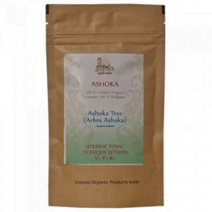 Ashoka  (Saraca indica)  pó 100 gramas - Importado da Índia