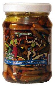 Conserva de Pimenta Brasileirissima - Malagueta no Azeite de Dendê 150g
