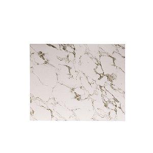 Lugar Americano PVC Branco Marmorizado 2 Peças 44x35cm 61417