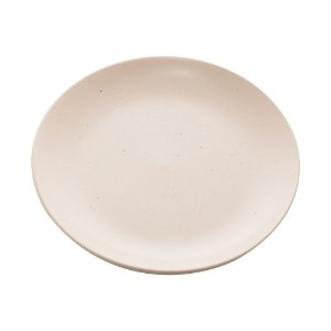 Conj 2 Pratos Sobremesa Cerâmica Granilite Marfim 19cm 28570