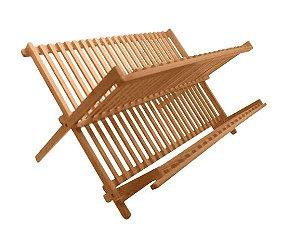 Escorredor de Louças Bambú Grande 46x34x23cm Yoi