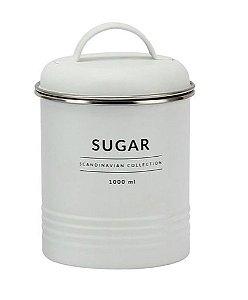 Porta Mantimentos Branco Copenhag Sugar 1000ml