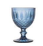 Taça para Água Greek Azul Escuro 345ml Unidade 28783A