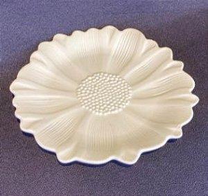 Prato Cerâmica Flor Pequeno 16,5cm 62171